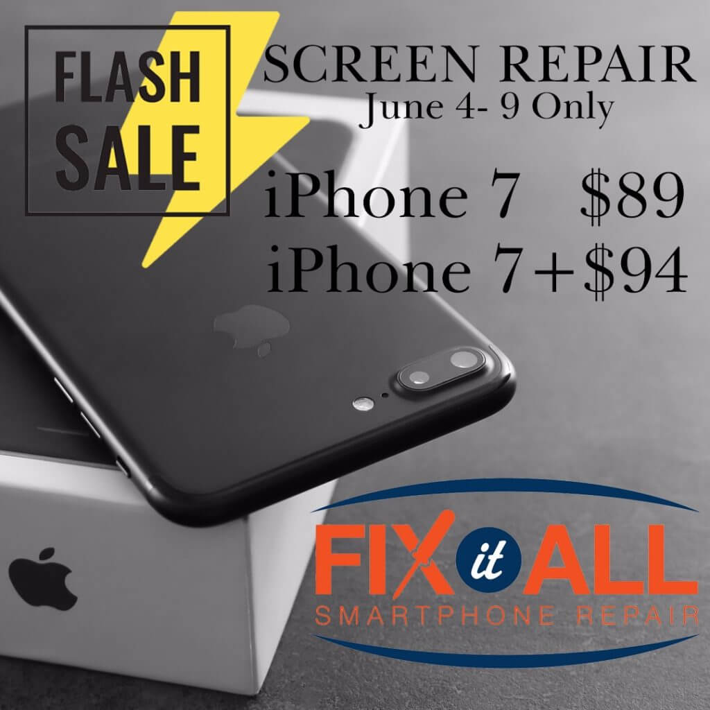 iPhone 7 and 7 Plus Screen Repair