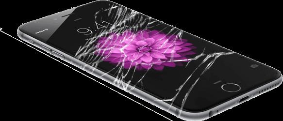 iPhone 6s broken LCD