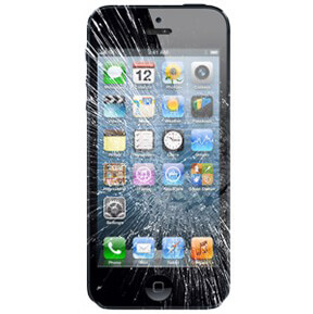 iPhone 5 Cracked LCD Digitizer
