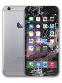 iphone6 plus cracked screen