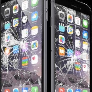 iPhone 6S Plus broken screen